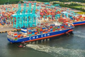 East Coast's Largest Container Ship Ever Calls on Port of Virginia