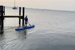 VIDEO: Grueling 240-Mile Bay Paddle Underway to Support Oysters
