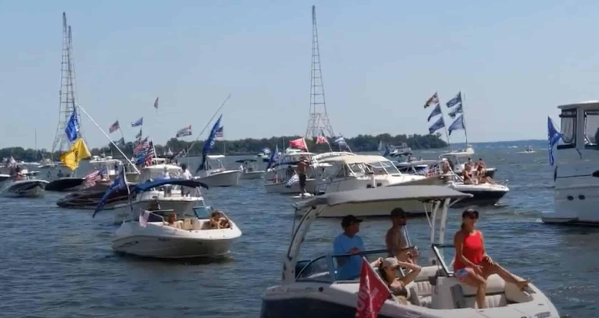 Slideshow Hundreds Of Vessels Join Bay Trumptilla Boat Parades Chesapeake Bay Magazine