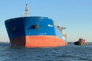 738-Ft. Cargo Ship Runs Aground in Norfolk