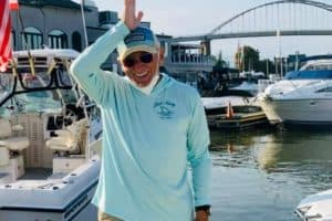 Spotted: Jimmy Buffett Docking, Dining on the Bay