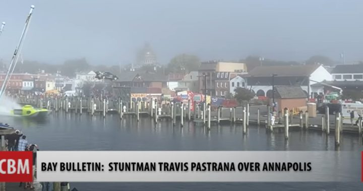 VIDEO: Pastrana Stunt Jump Over Annapolis's Ego Alley