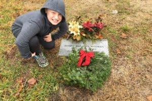 Eastern Shore Family Gives Hundreds of Wreaths for Chesapeake Veterans' Tombstones