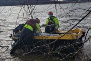 Man Rescued from Amphibious ATV in Potomac River