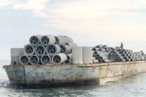 2,000 Tons of Concrete Added to Artificial Reef off Del. Beaches