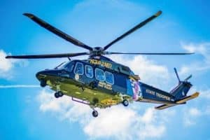 Capsized Kayaker Stranded in Mud, Hoisted by Helicopter