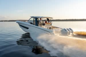 Mercury Debuts World's First V12 Outboard Motor