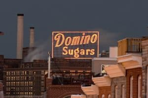 Domino Sugar Sign to be Rebuilt with New Technology
