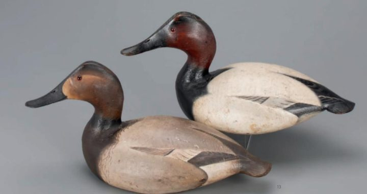 Rare Chesapeake Decoys Sell at Auction for up to $155K Each