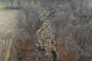 VIDEO: Drones' Eye View Shows Upper Sassafras River Progress