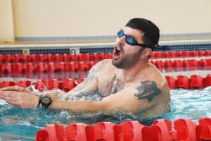 Va. Navy Sailor Breaks Record for Swimming While Handcuffed