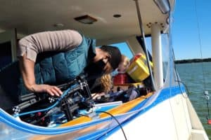 Northrop Grumman, CBF Test Oyster Monitoring New Tech