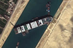Suez Canal Crisis Delays Several Chesapeake-Bound Ships
