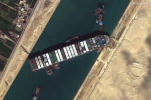 Suez Canal Crisis Delays Several Chesapeake-Bound Ships