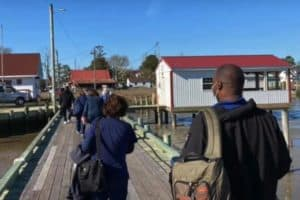 VIDEO: COVID Vaccine Comes to Smith Island by Boat