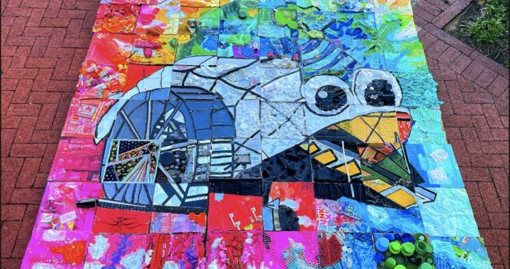 VIDEO: Baltimore Creates Trash Mosaic to Celebrate Mr. Trash Wheel's Birthday
