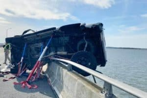 Baby Rescued from Bay in Ocean City Bridge Crash