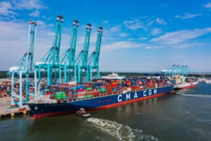 Port of Va. Hosts East Coast's Largest-Ever Container Ship
