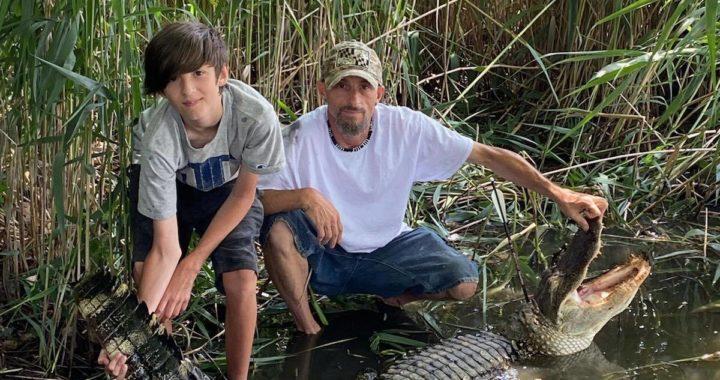 Calvert Co. Man Claims 7.5-Foot Alligator Caught from Chesapeake Bay