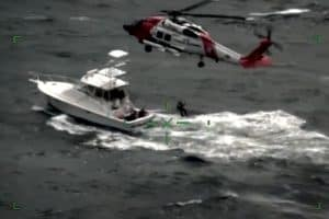 VIDEO: 7 Rescued from Sportfisher off Mid-Atlantic Coast