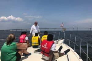 Powerboat Dealer Helps Maritime Education Program Get Back on its Feet