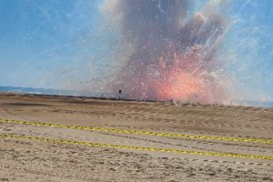 VIDEO: Fireworks Accident Cancels OC Shows, Injures Workers