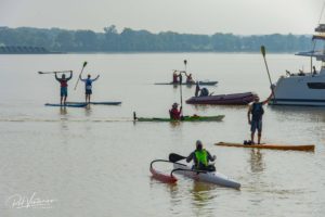 VIDEO: Bay Paddle Underway with 100+ Paddlers