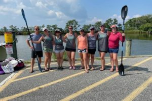 Team of Teachers Among Paddlers Racing 215 Miles Down the Bay