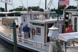 VIDEO: Century-Old Buyboats Tour Lower Bay