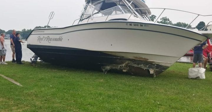 Two Powerboats Crash into Land on Upper Bay, Both Incidents Under Investigation