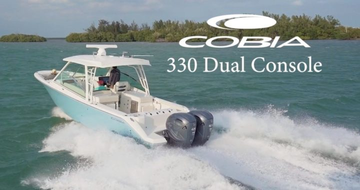 New Cobia 330 DC at RT 113 Boat Sales