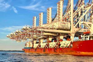 Massive Cranes to Squeeze Under Bay Bridge to Reach Port of Baltimore
