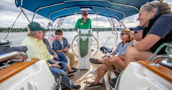 Nonprofit Launching in Annapolis to Take Cancer Patients & Caregivers Sailing